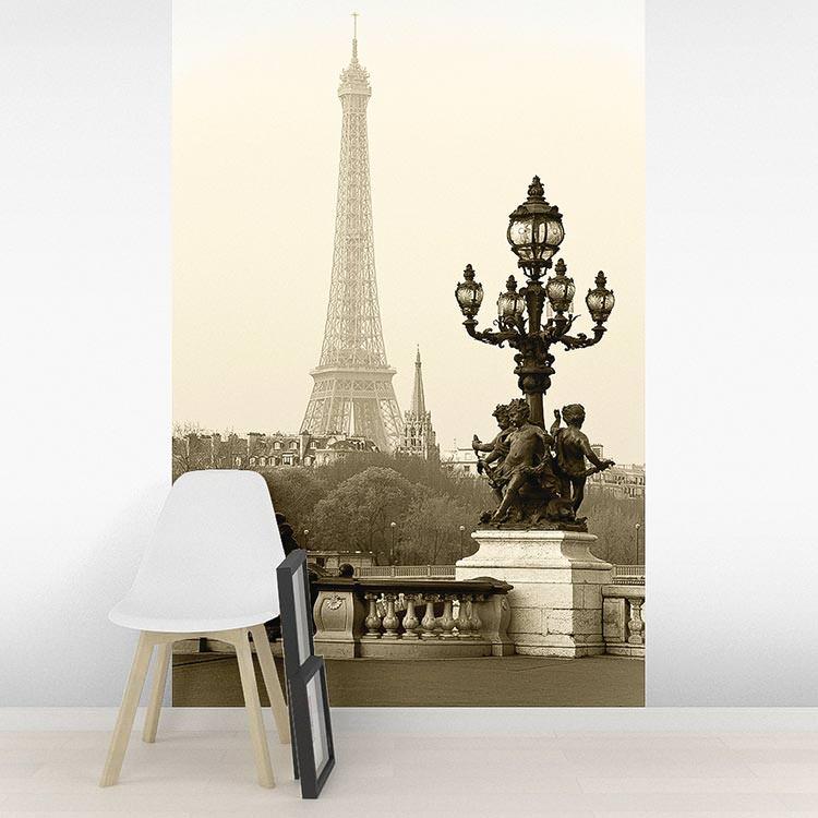 рассчитана фотообои парижский этюд размеры кадре можно