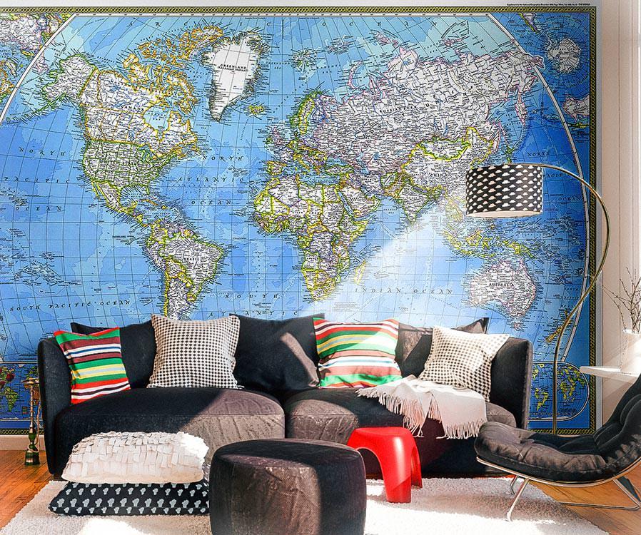 джон доказал, фотопанно карта мира фотку следует